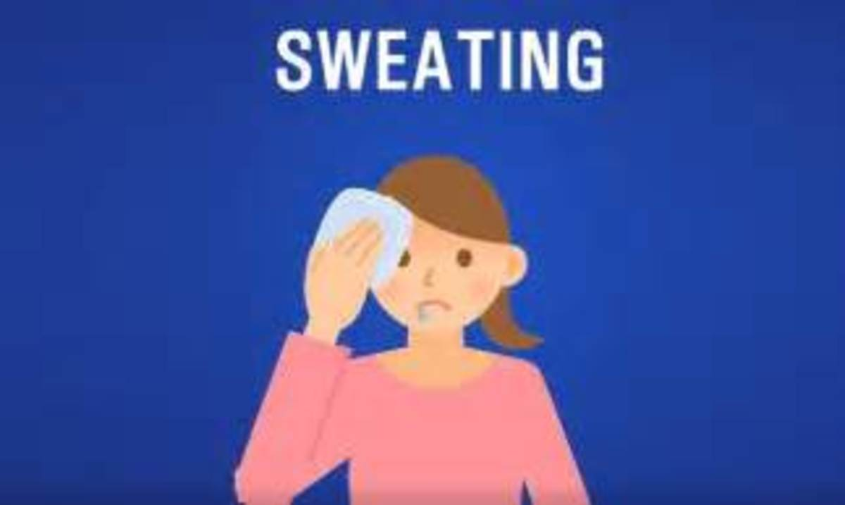 Sweating Profusely Is A Sign For Kidney Disease