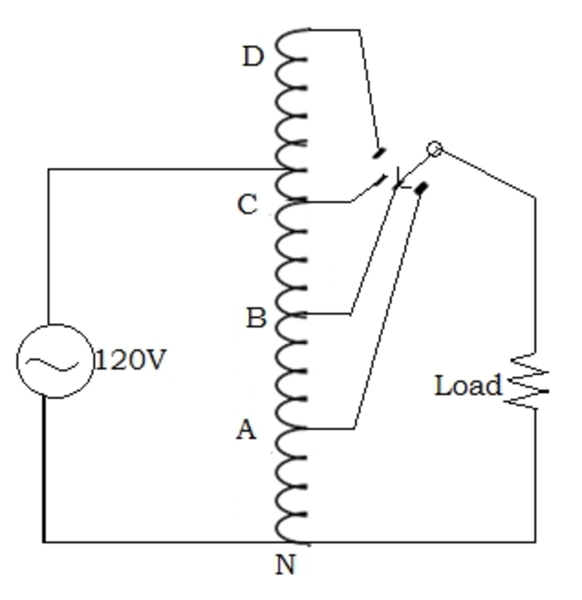 How does an Autotransformer work?