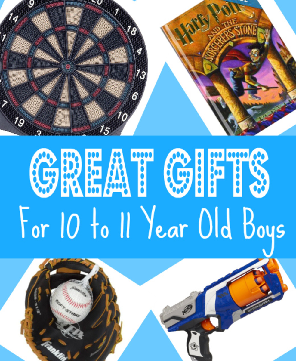 Best Gifts & Top Toys for 10 to 11 Year Old Boys