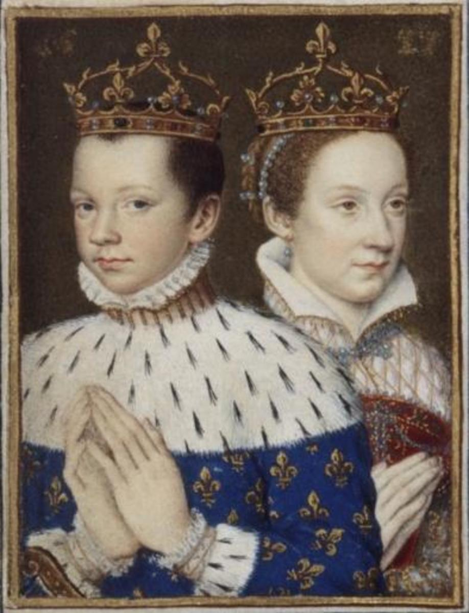 Mary, Queen of Scots, married Francis, the Dauphin of France, when she was 16 years old. She became the Queen Consort of France.