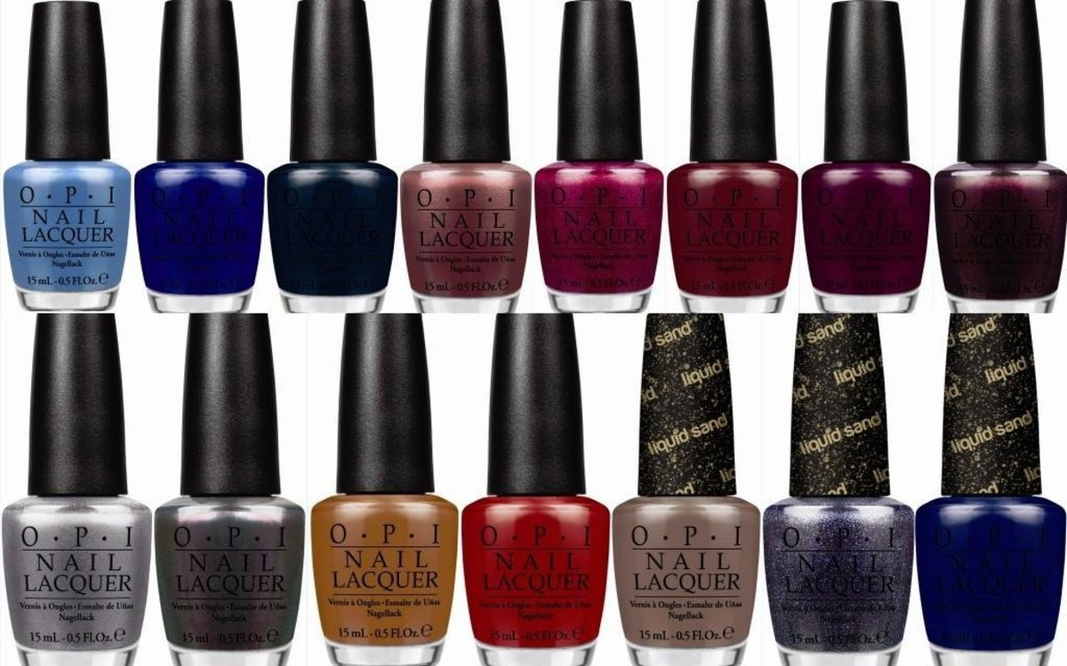 Latest OPI Nail Polish Range: San Francisco Collection For 2013/2014