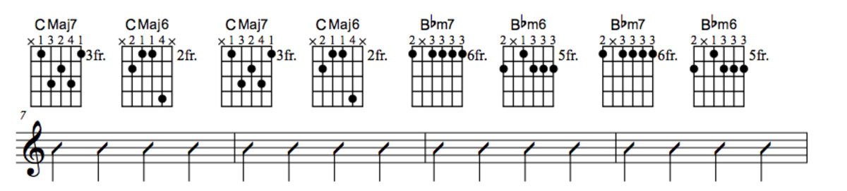 Lady Bird Chord Chart Part Two