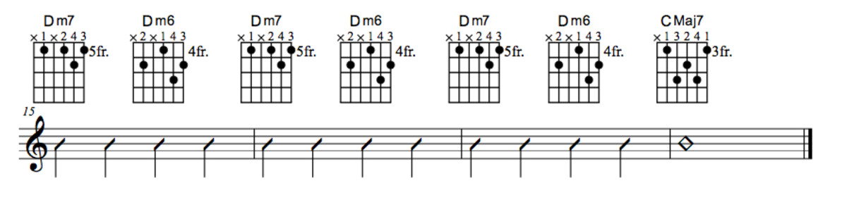 Lady Bird Chord Chart Part Four