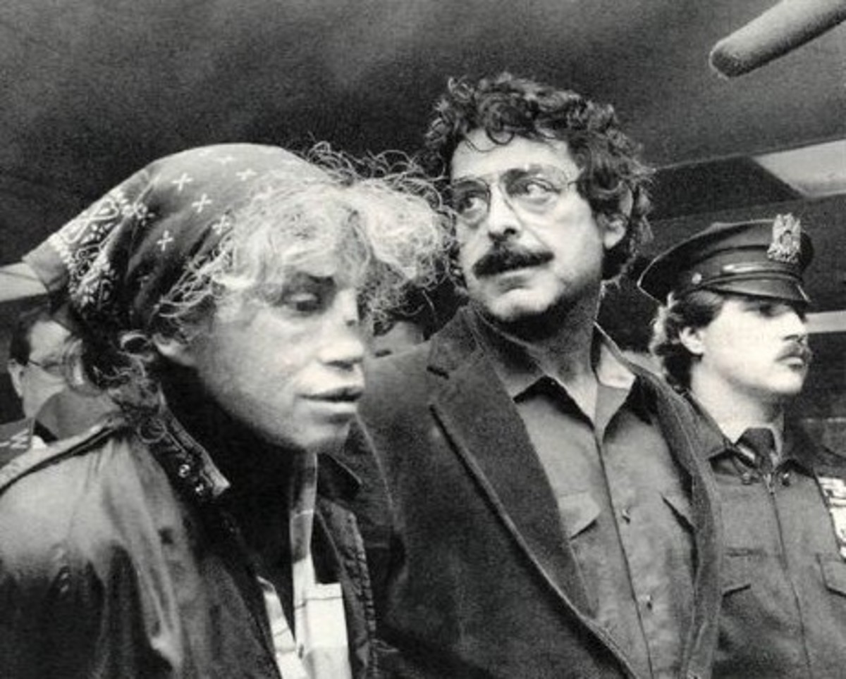 Hedda Nussbaum and Joel Steinberg arrested 2nd November 1987