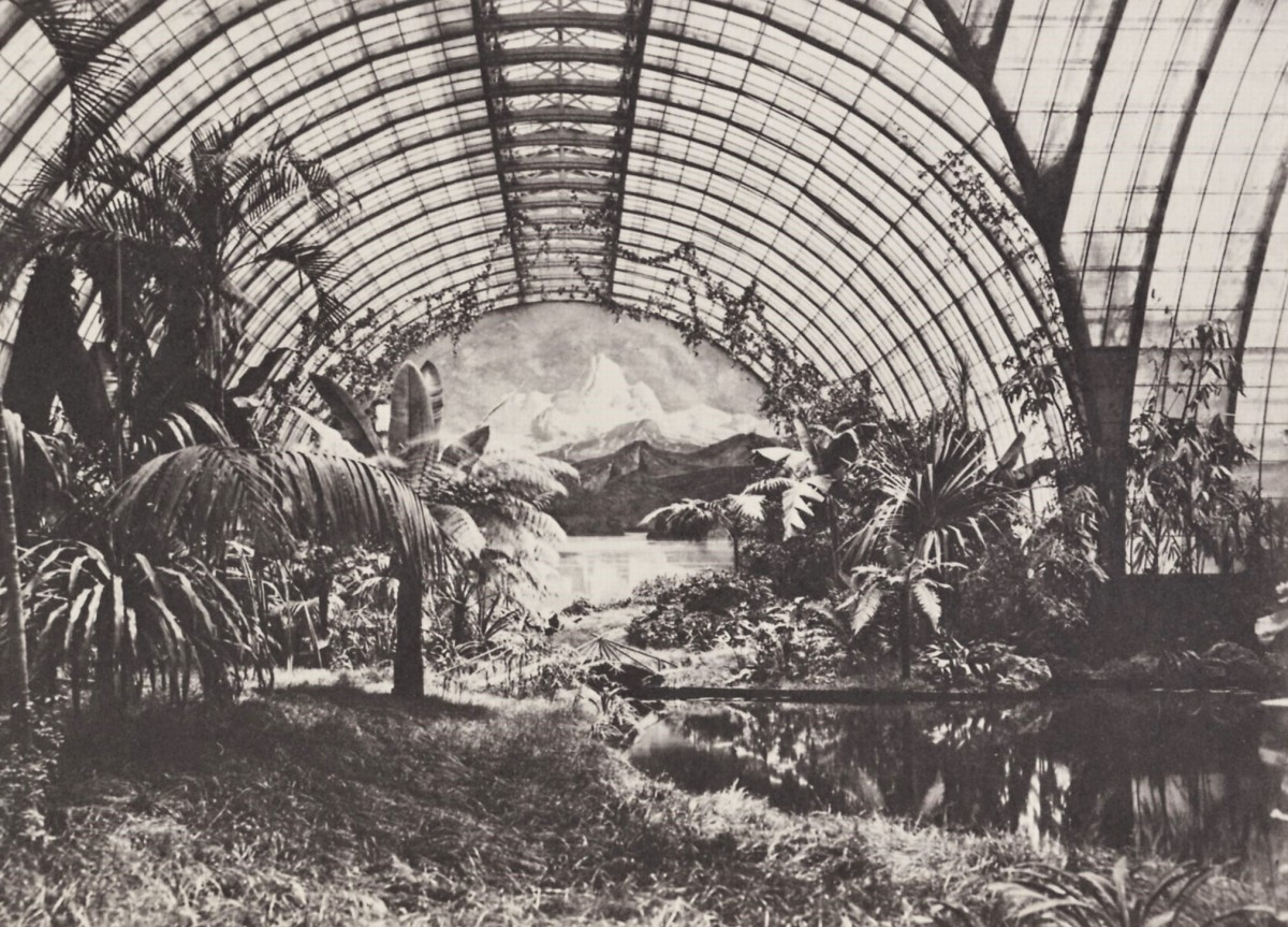 Ludwig II's Winter Garden, on the roof of the family's Munich residence.