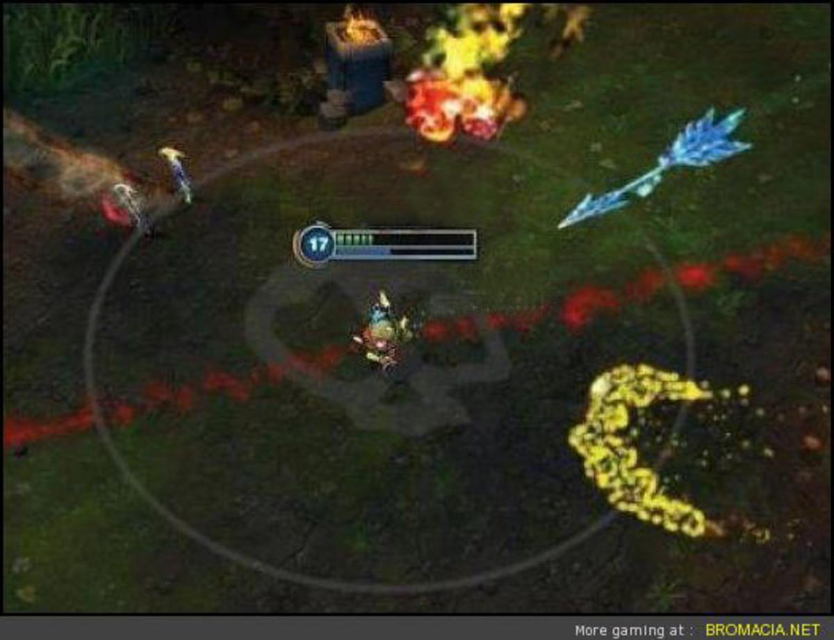 League of Legends screenshot, copyright Riot Games, Inc.