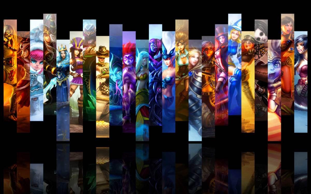 League of Legends champions, copyright Riot Games, Inc.