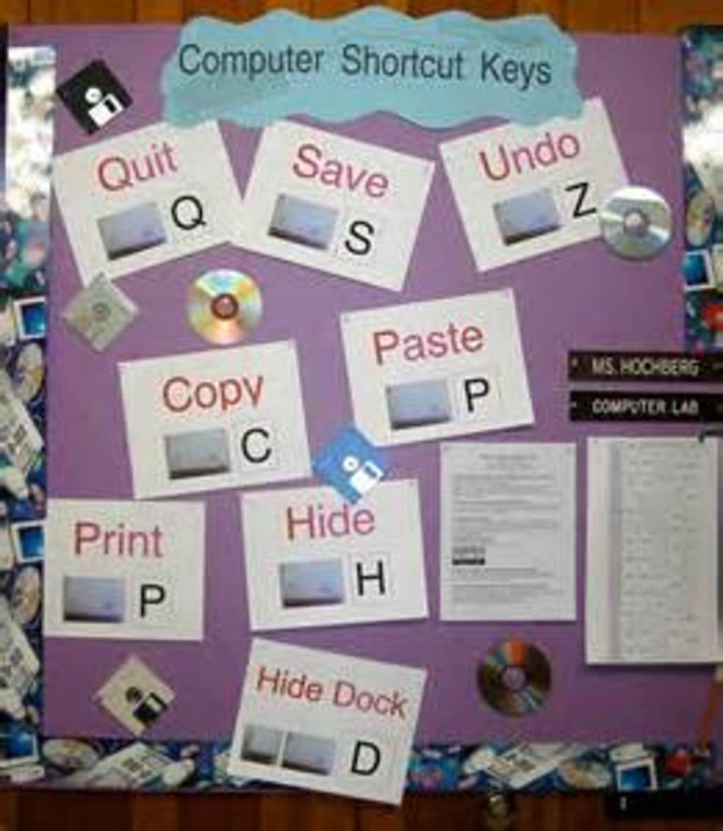 Bulletin Boards bring concepts to life!