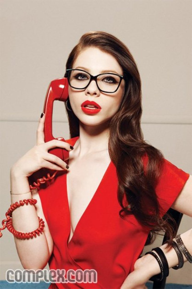 Michelle Trachtenberg in Complex magazine.