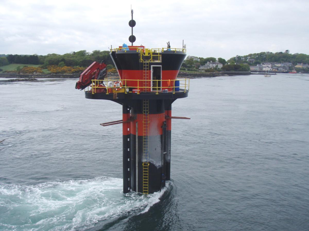 Tidal power plant