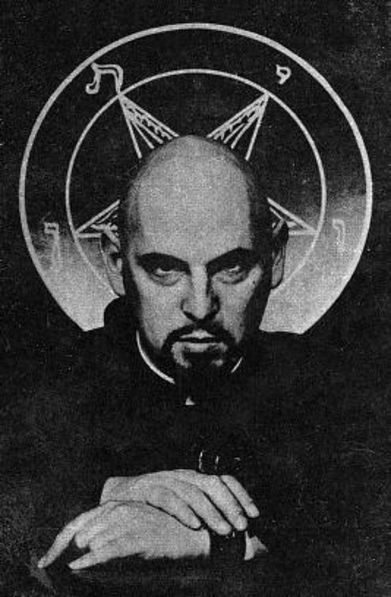 Anton Szandor LaVey (born Howard Stanton Levey), founder of LaVeyan Satanism and the Church Of Satan.
