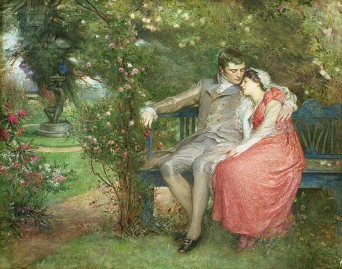 Gather Ye Rosebuds While Ye May by Wirgman