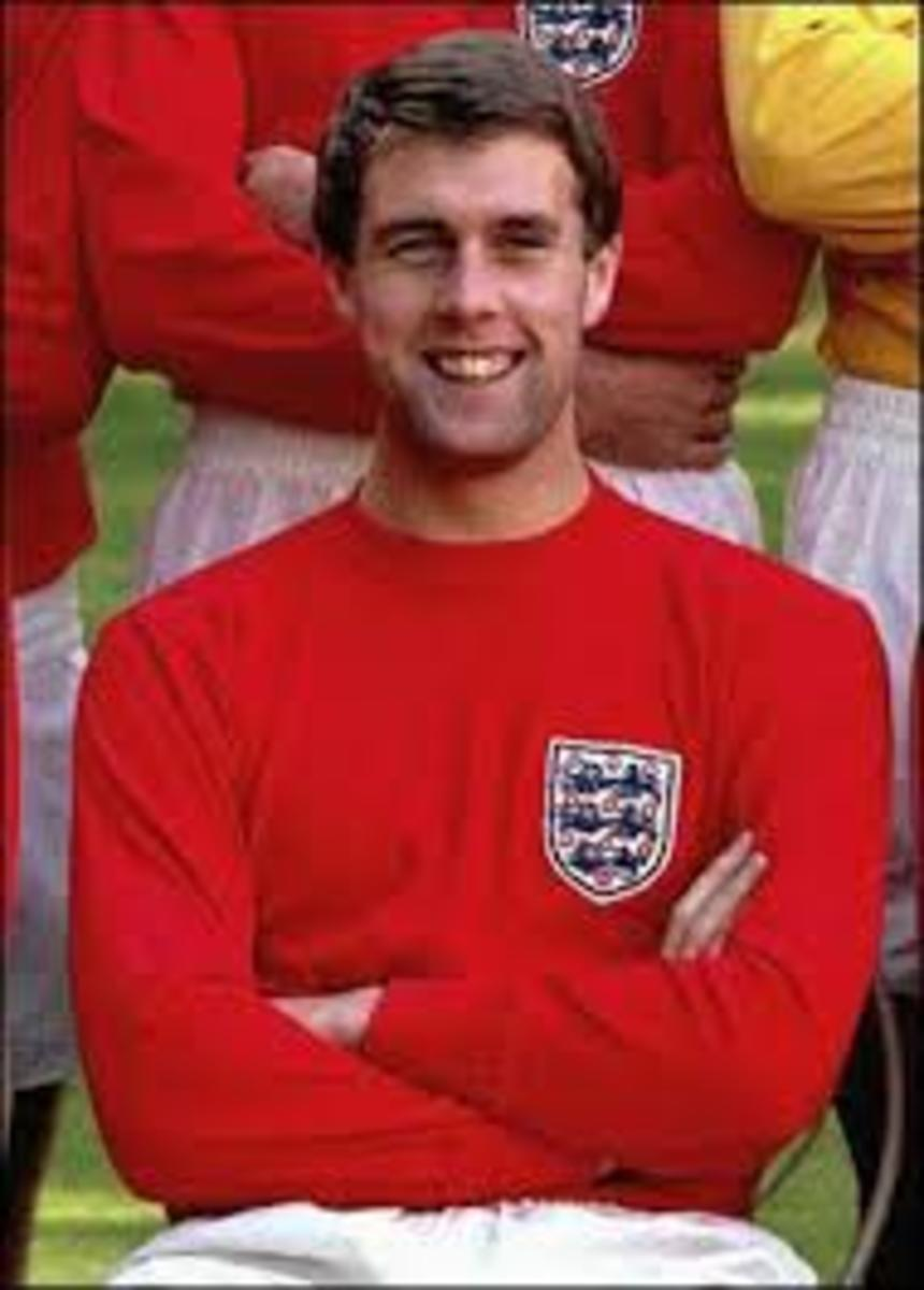 Geoff in his England days.