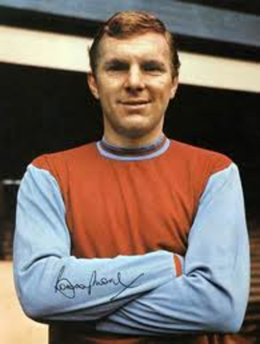 Bobby in his West Ham days.