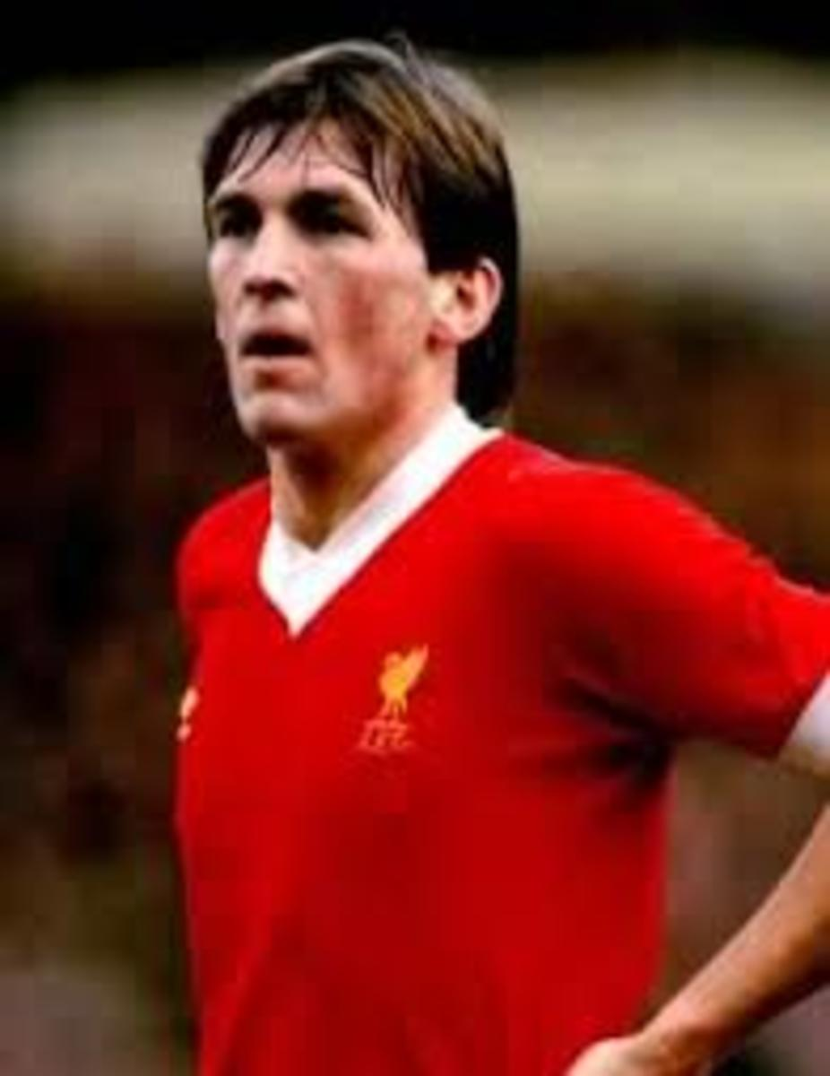 Dalglish in his playing days with Liverpool.