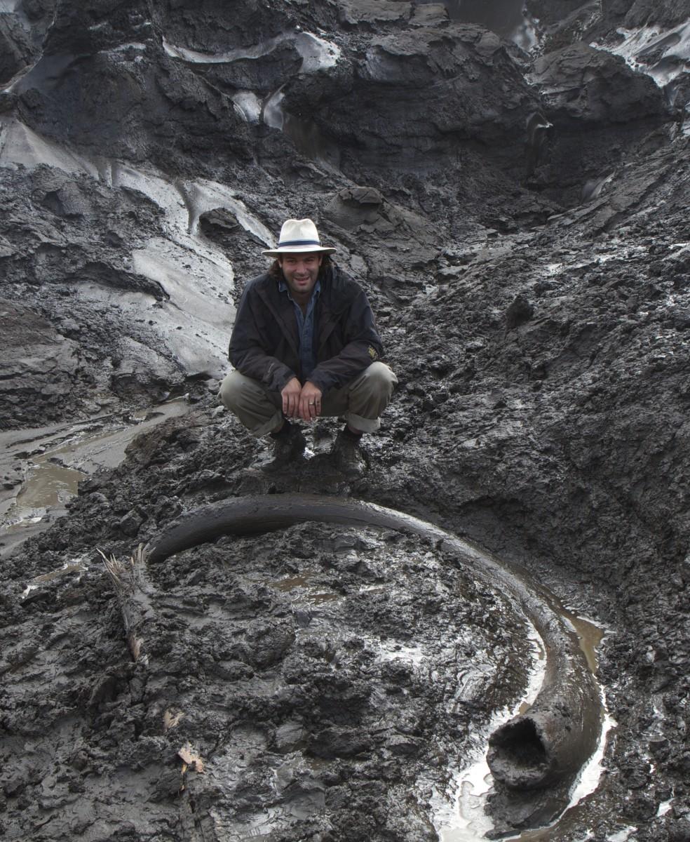 Tusk Found In Yukon Territoy, Canada.