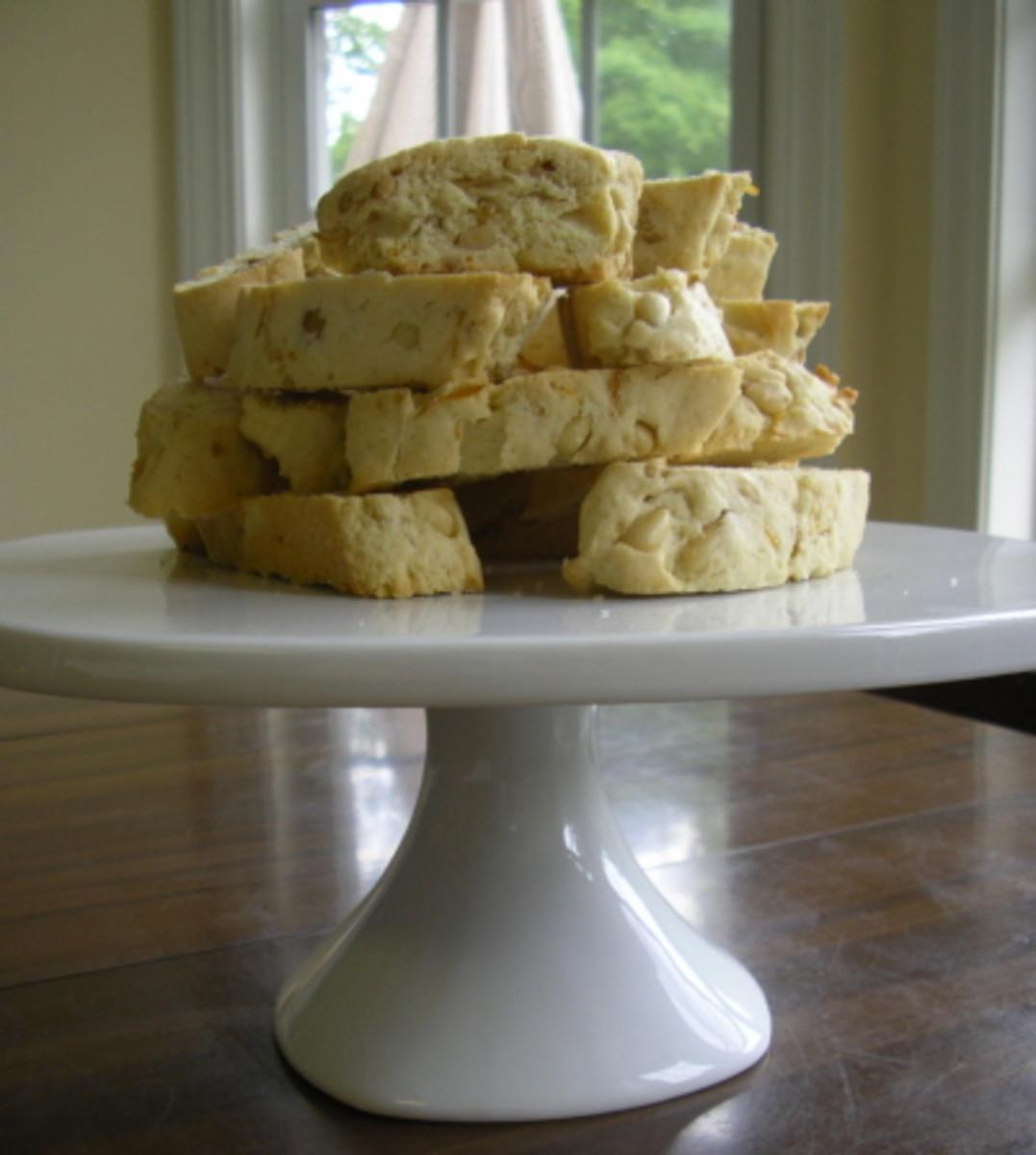 Pignoli (pine nuts) biscotti