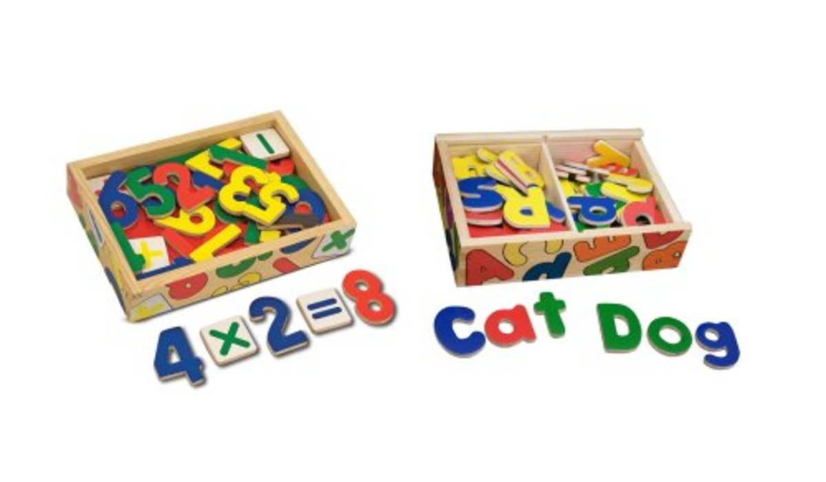 Basic learning numbers and letters by Melissa & Doug