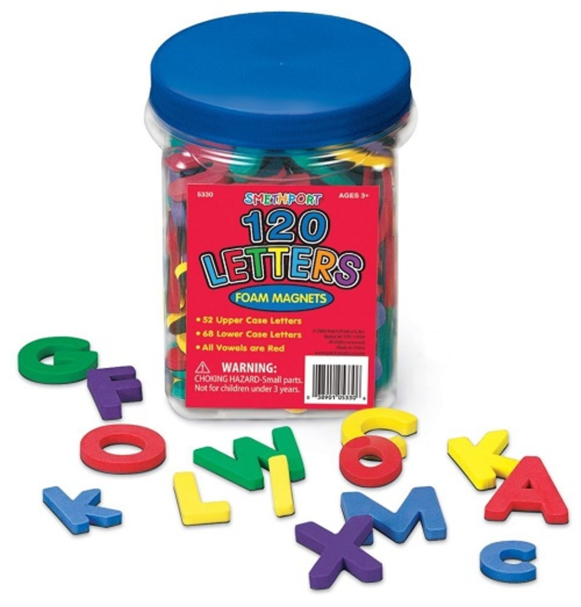 Try these foam magnetic letters, they are highly rated by the buyers