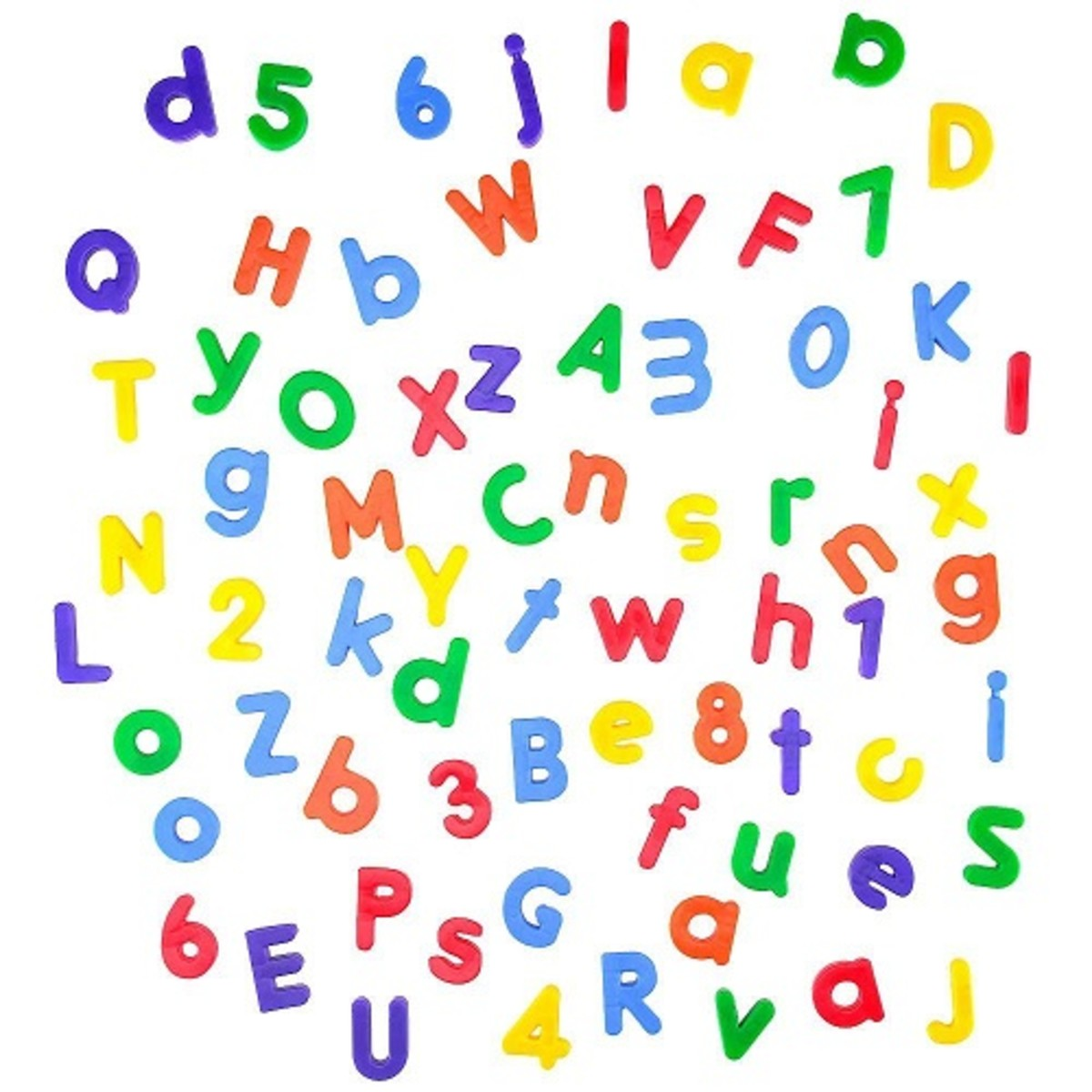 How about these cheap alphabet and numbers for kids?