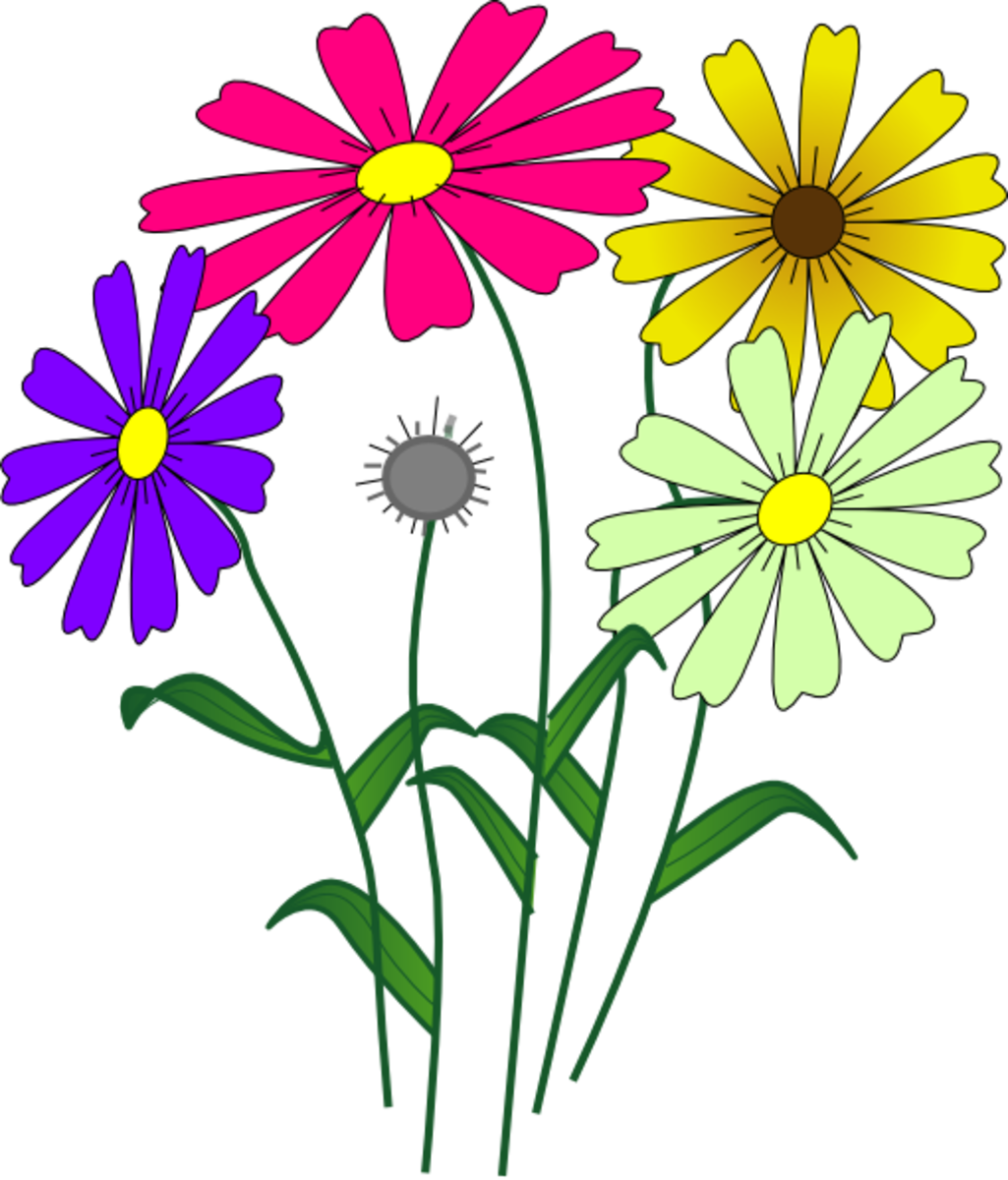 clip art free flowers garden global perspectives