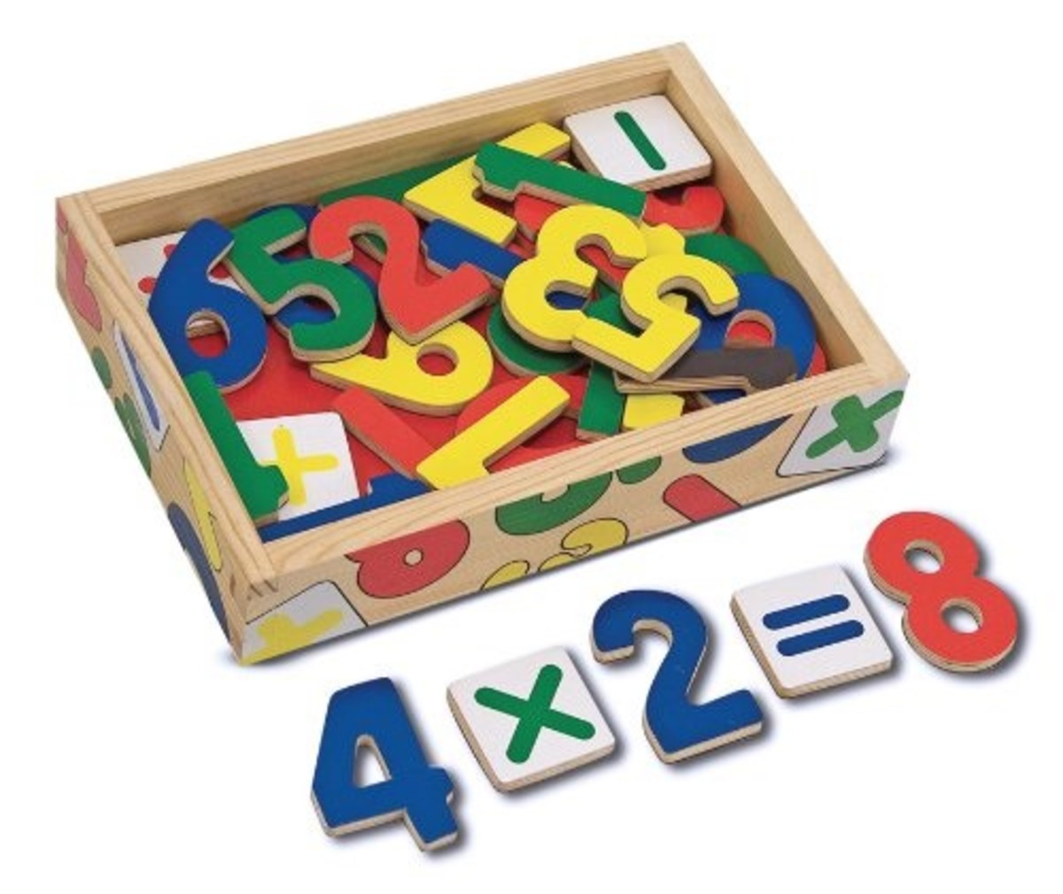 Looking for well reviewed magnetic wooden numbers? Here they are!