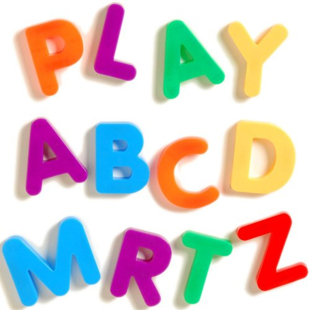 Cheap giant magnetic uppercase letters