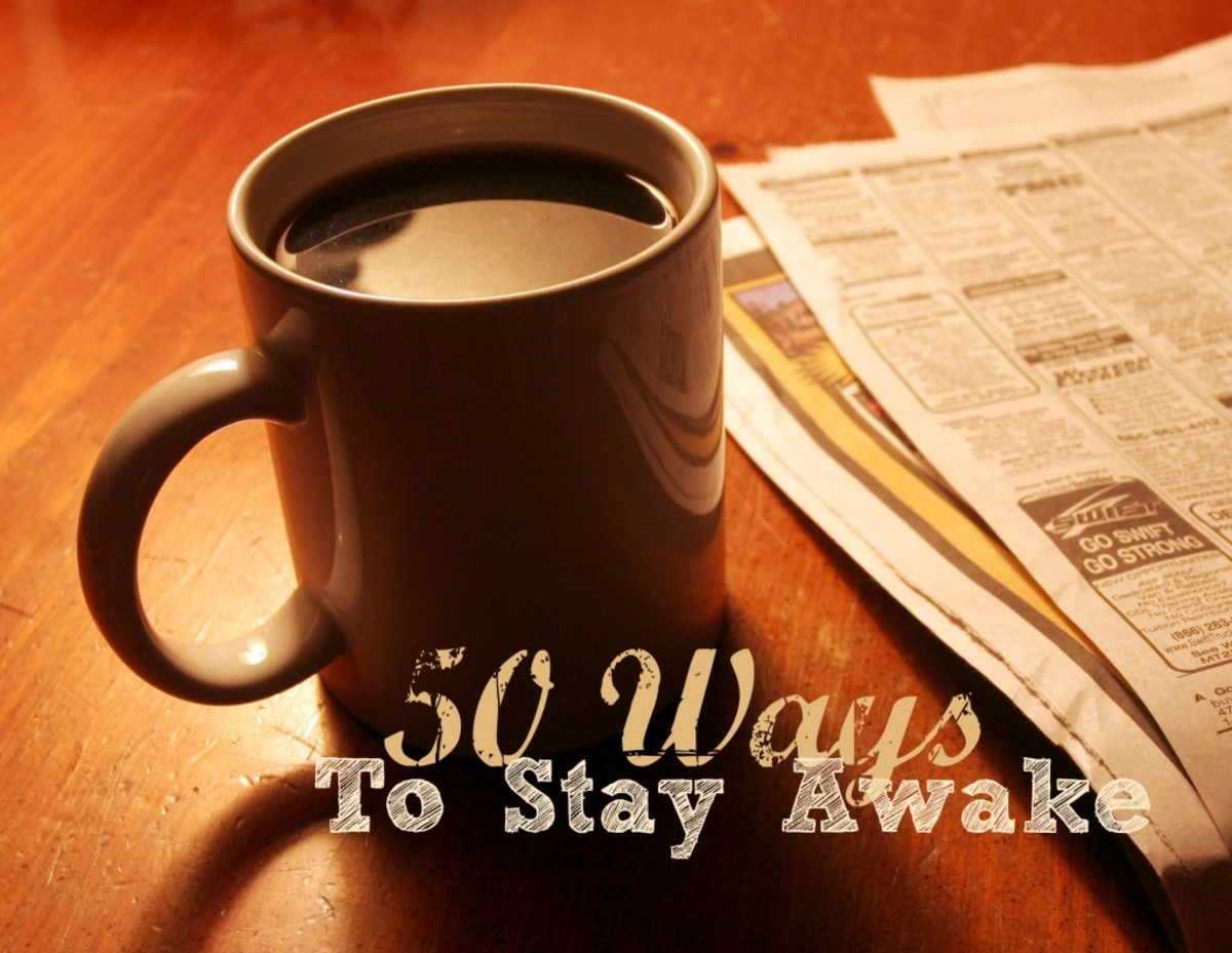 no sleep how to stay awake