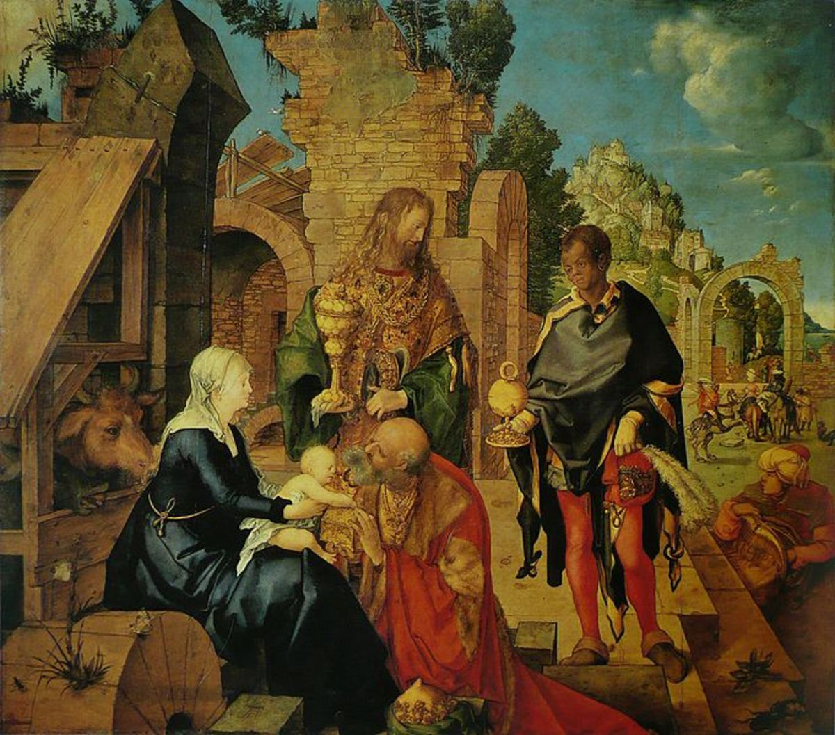 Adoration of the Magi (1504)