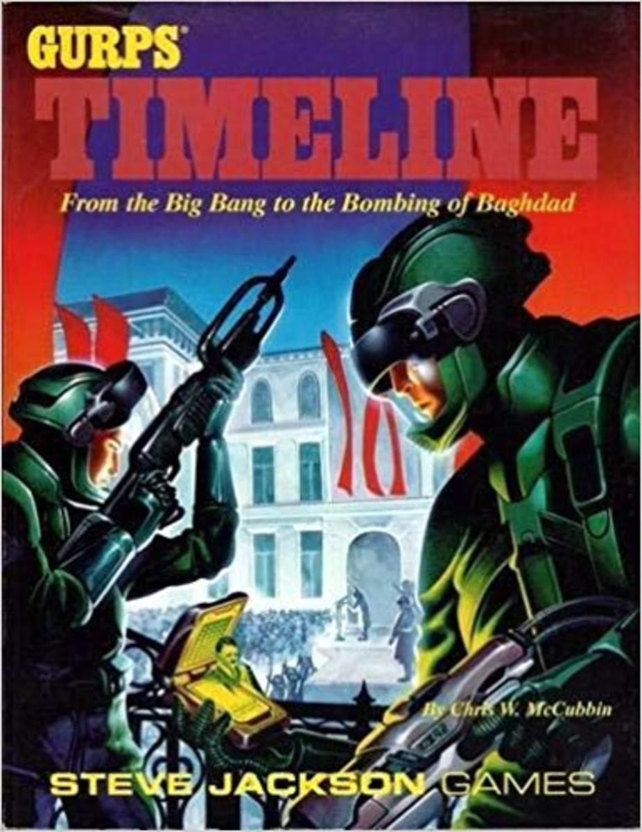 GURPS Timeline: From the Big Bang to the Bombing of Baghdad, by Chris W. McCubbin
