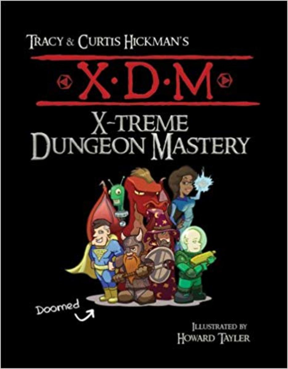 XDM X-Treme Dungeon Mastery, by Tracy Hickman and Curtis Hickman
