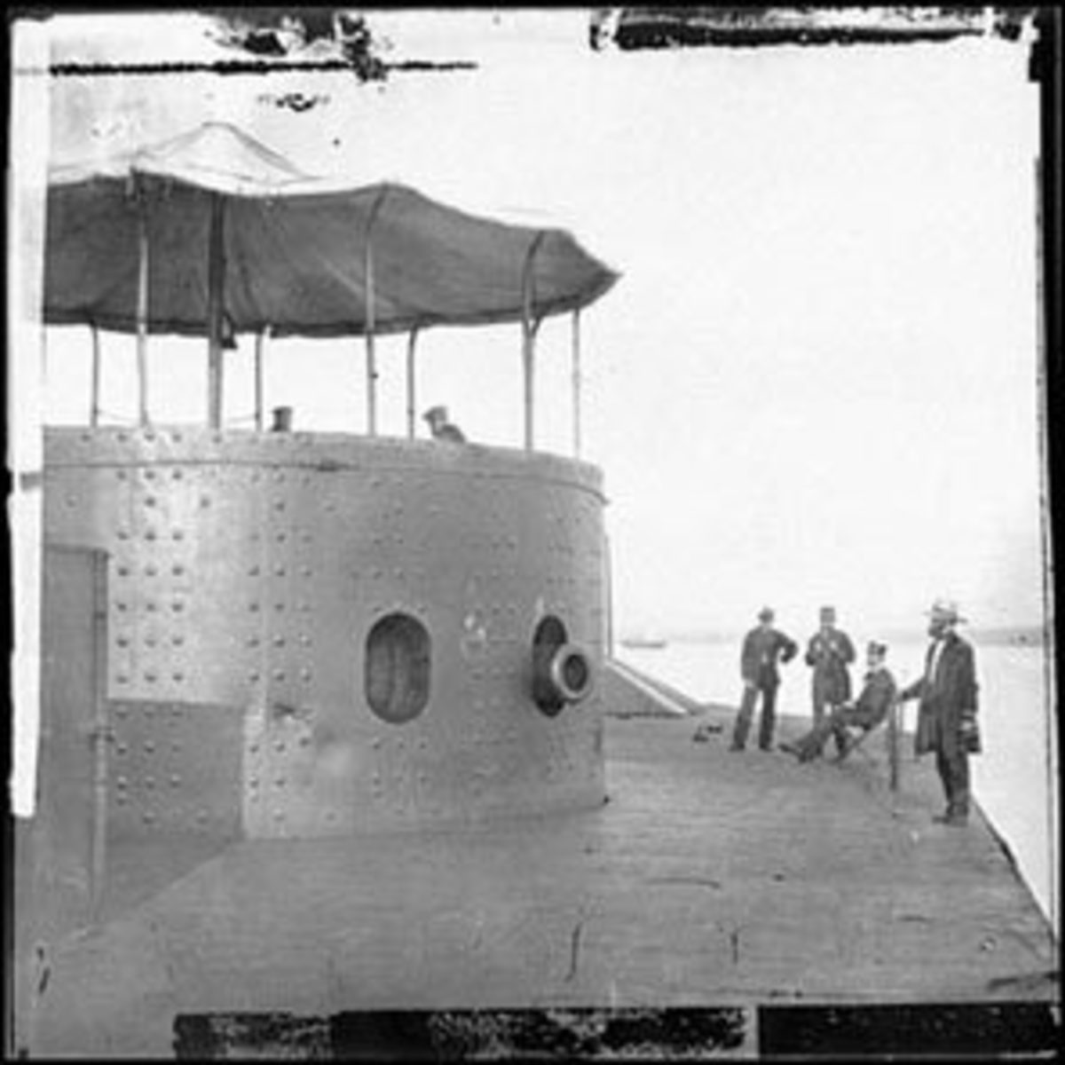USS Monitor, the Union's first ironclad vessel