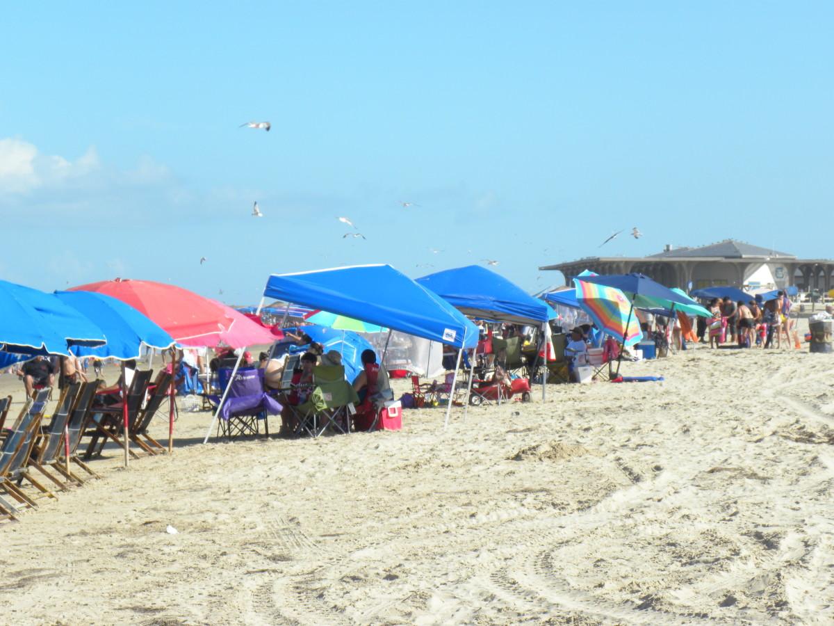 Beaches at Isla Blanca South Padre Island TX
