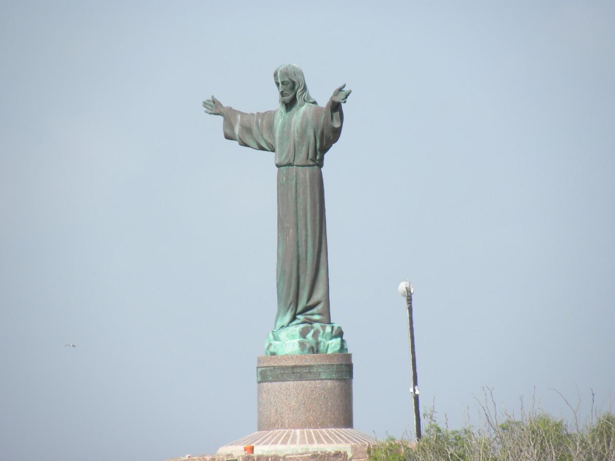 El Cristo de los Pescadores (Christ of the Fishermen). Isla Blanca South Padre Island TX