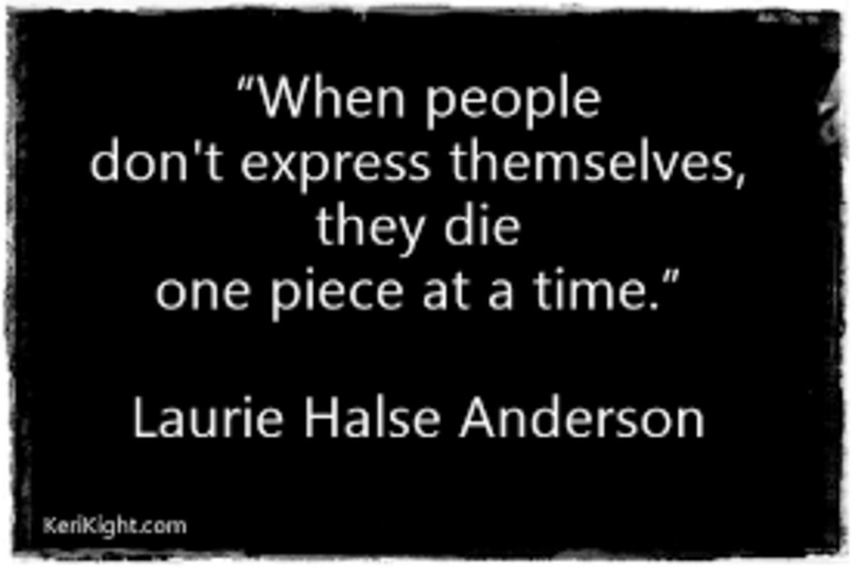 speak by laurie halse anderson lesson plan ideas hubpages source