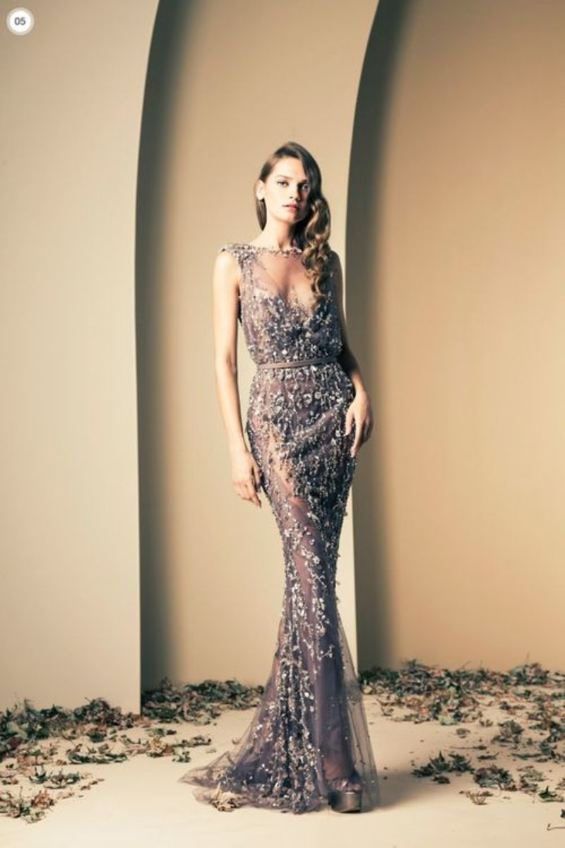 Beautiful haute couture dress by Ziad Nakad.