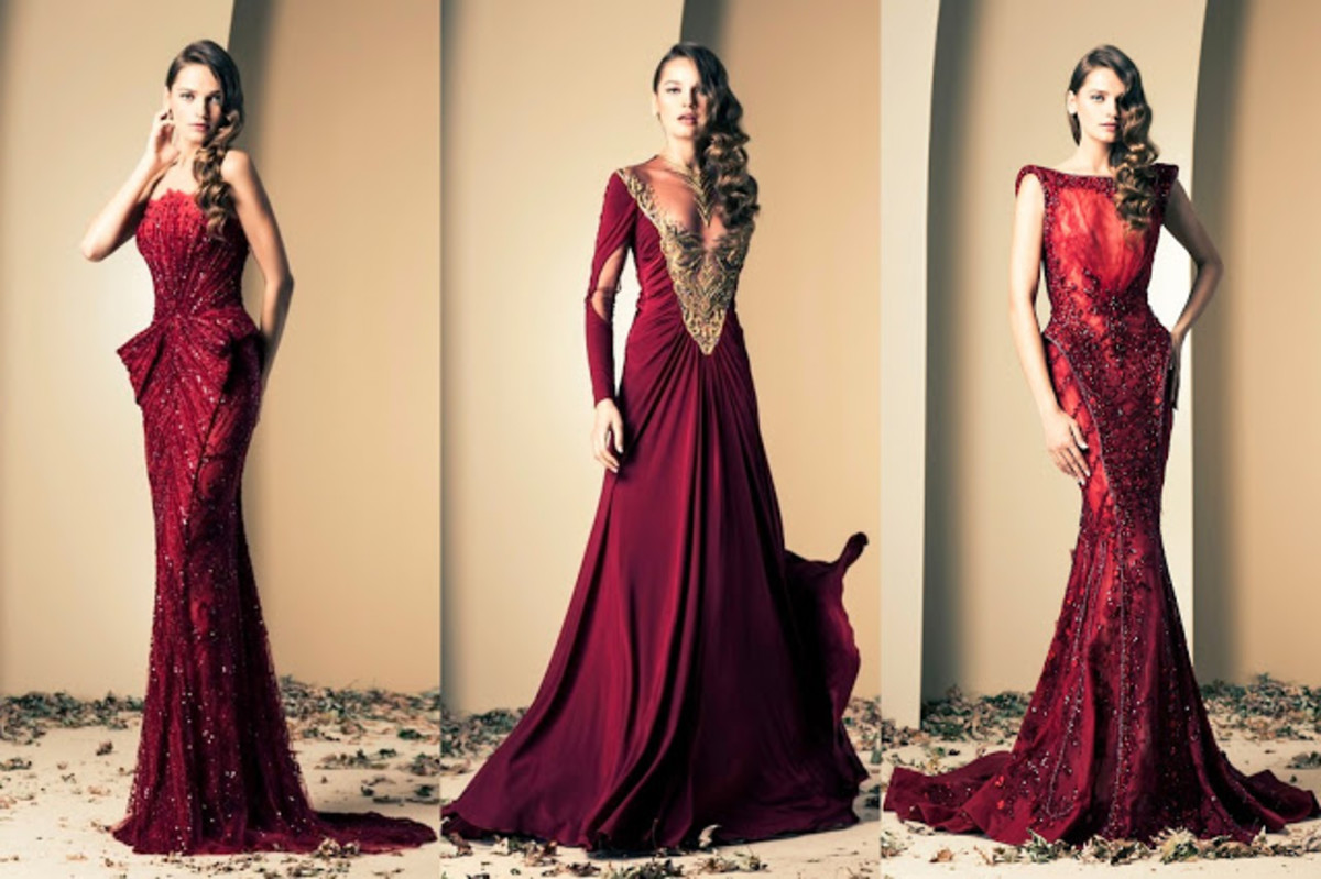 Three gorgeous out of the world haute couture gowns designed by Ziad Nakad for this Fall/Winter 2014 Collection
