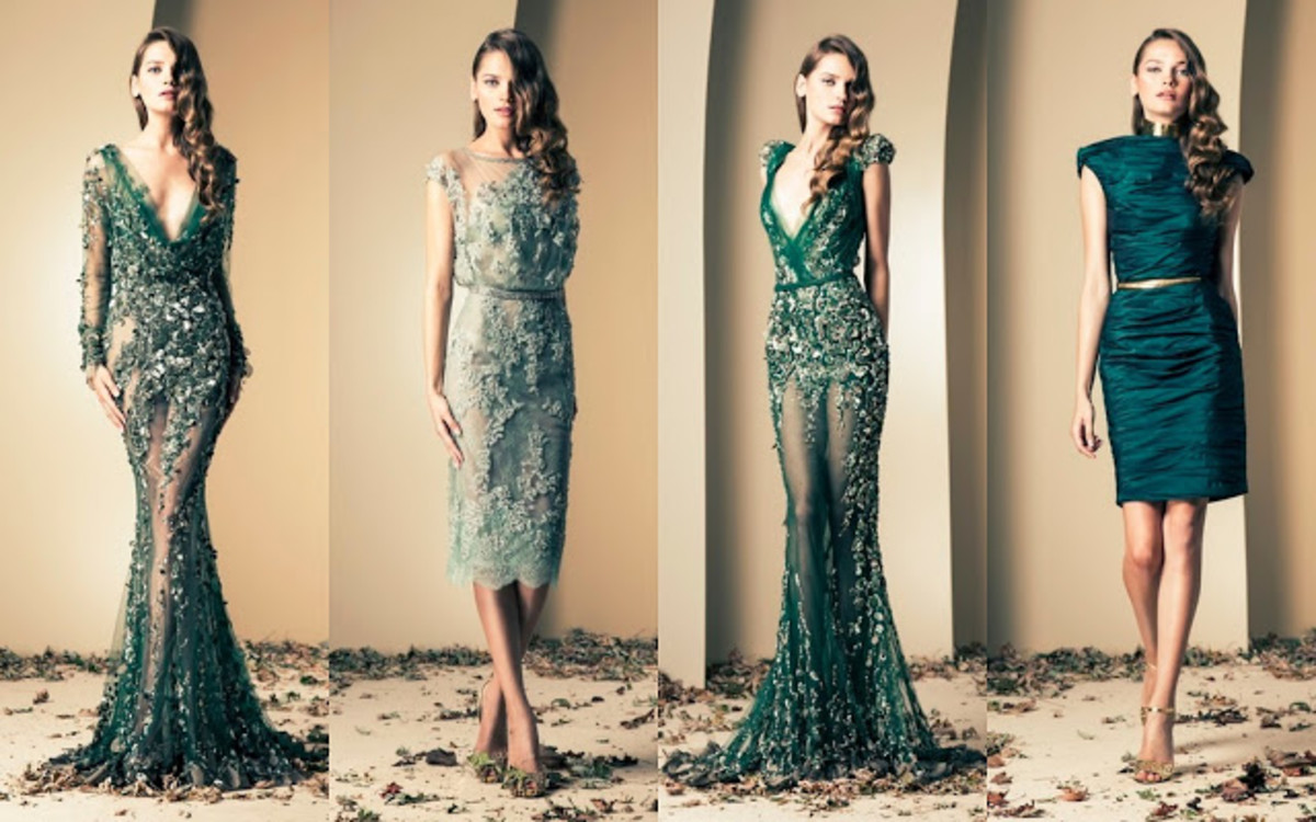 3 beautiful party dresses designed by Lebanese designer