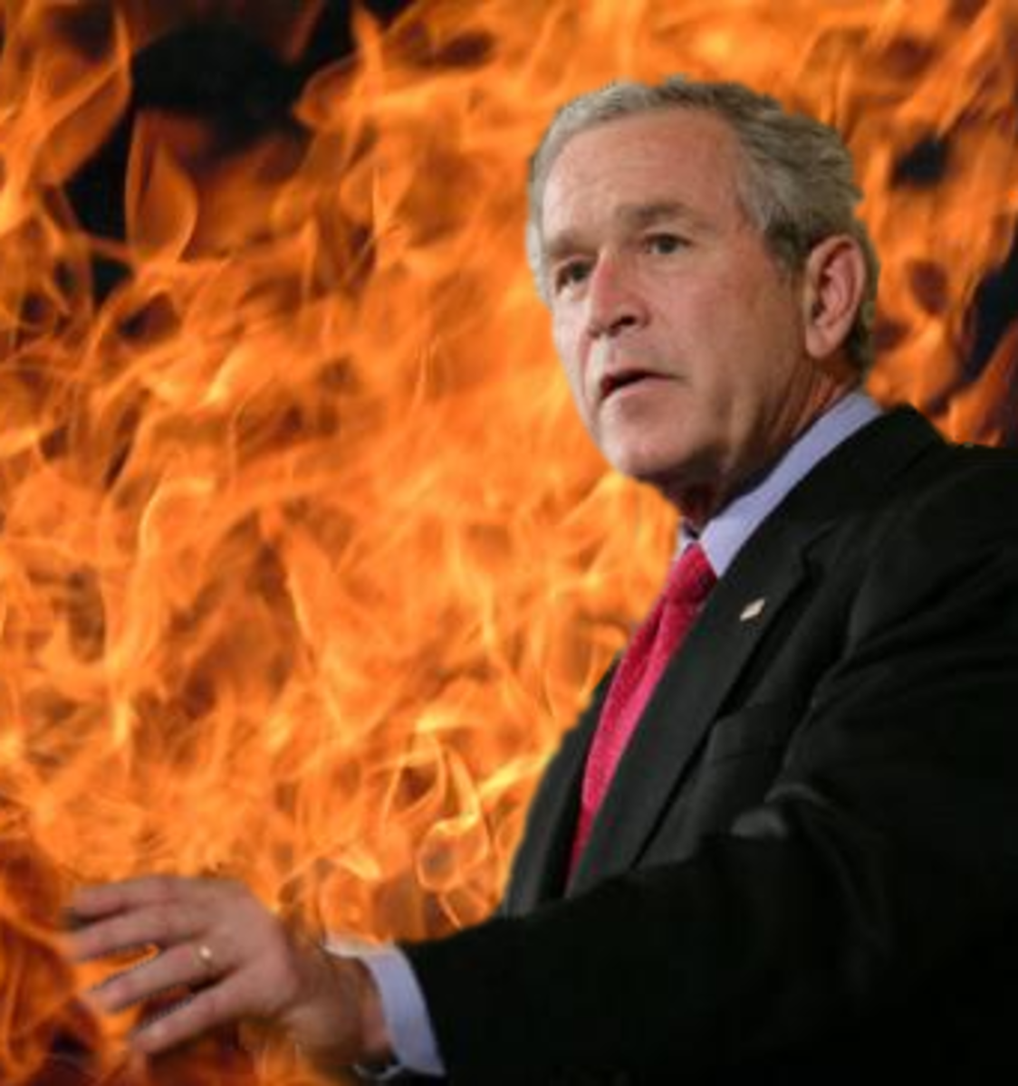 George Bush Hell