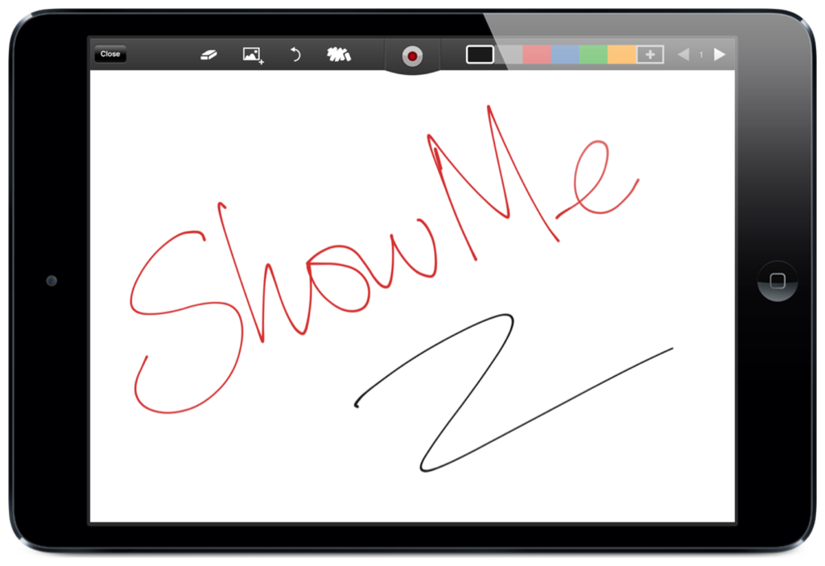 ShowMe screenshot by Jonathan Wylie