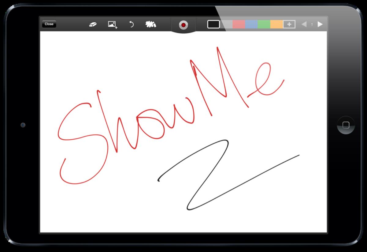 ShowMe screenshot by Jonathan Wylie