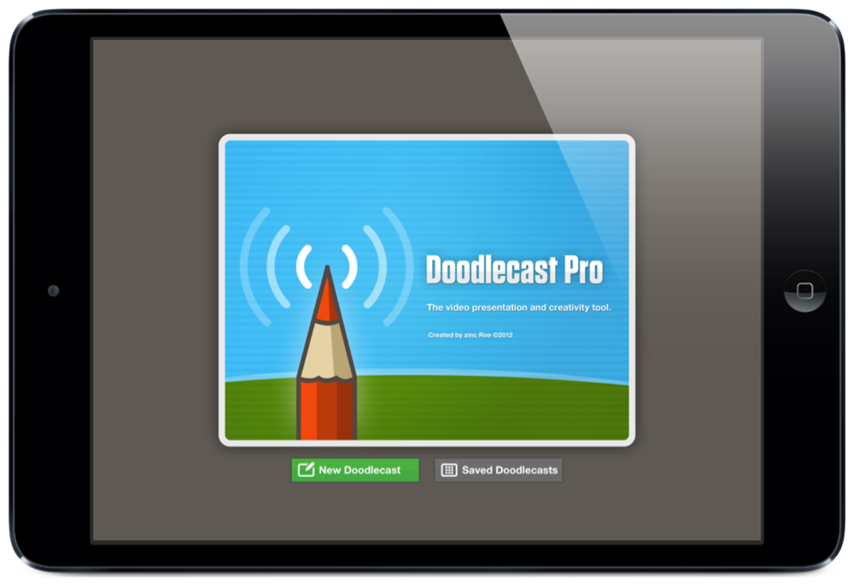 Doodlecast Pro screenshot by Jonathan Wylie