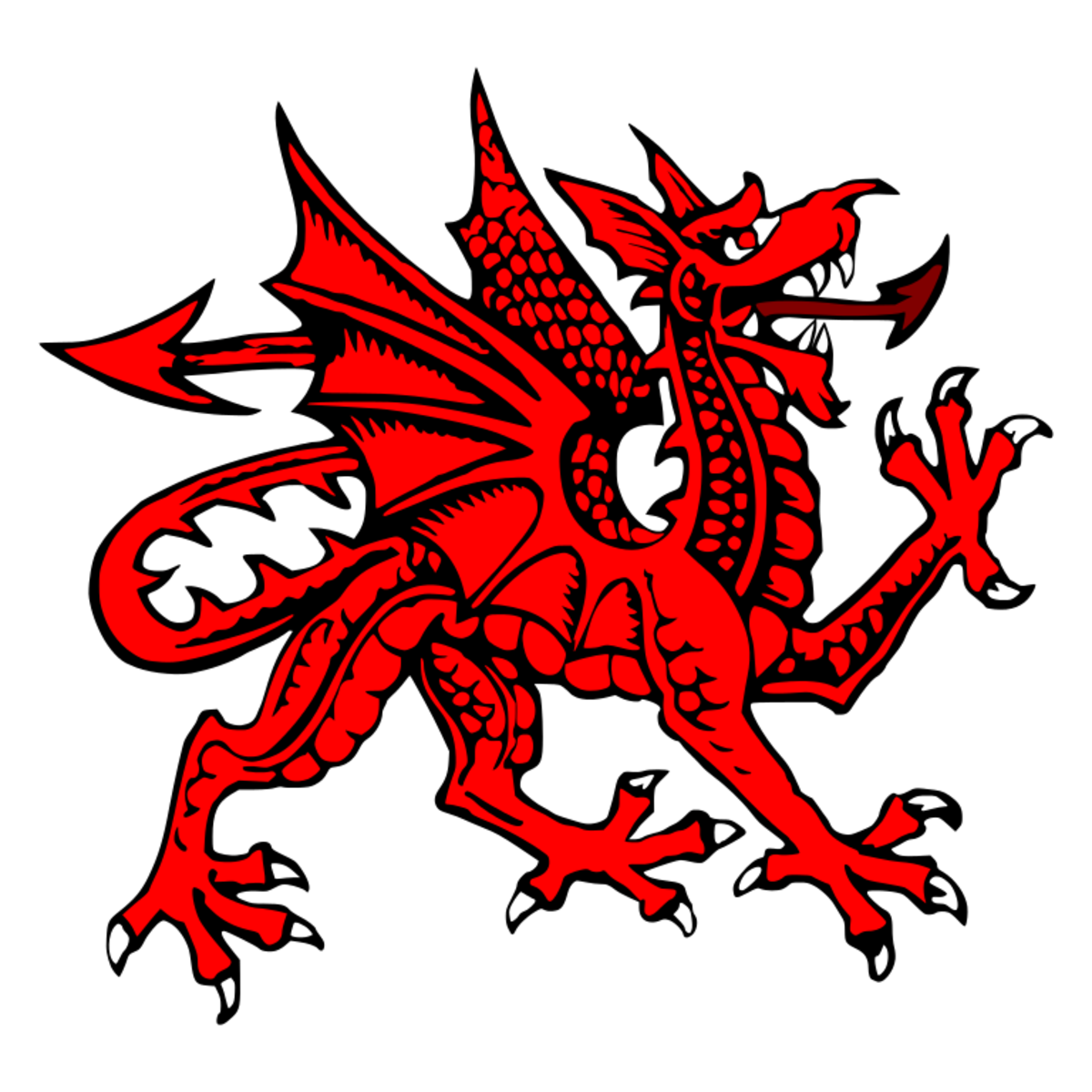The Prophecy of Merlin which features the enduring legend of the Red Dragon is centred on Dinas Emrys in Northwest Wales.