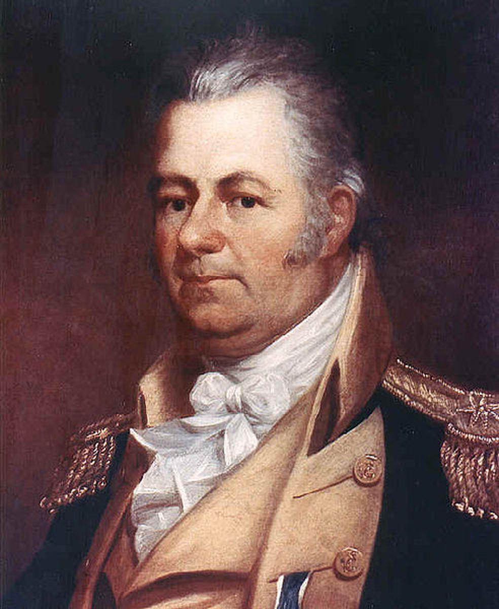 Captain Thomas Truxtun, painted in 1817 by Bass Otis.