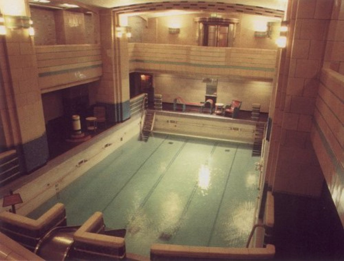The 1st class Swimming Pool