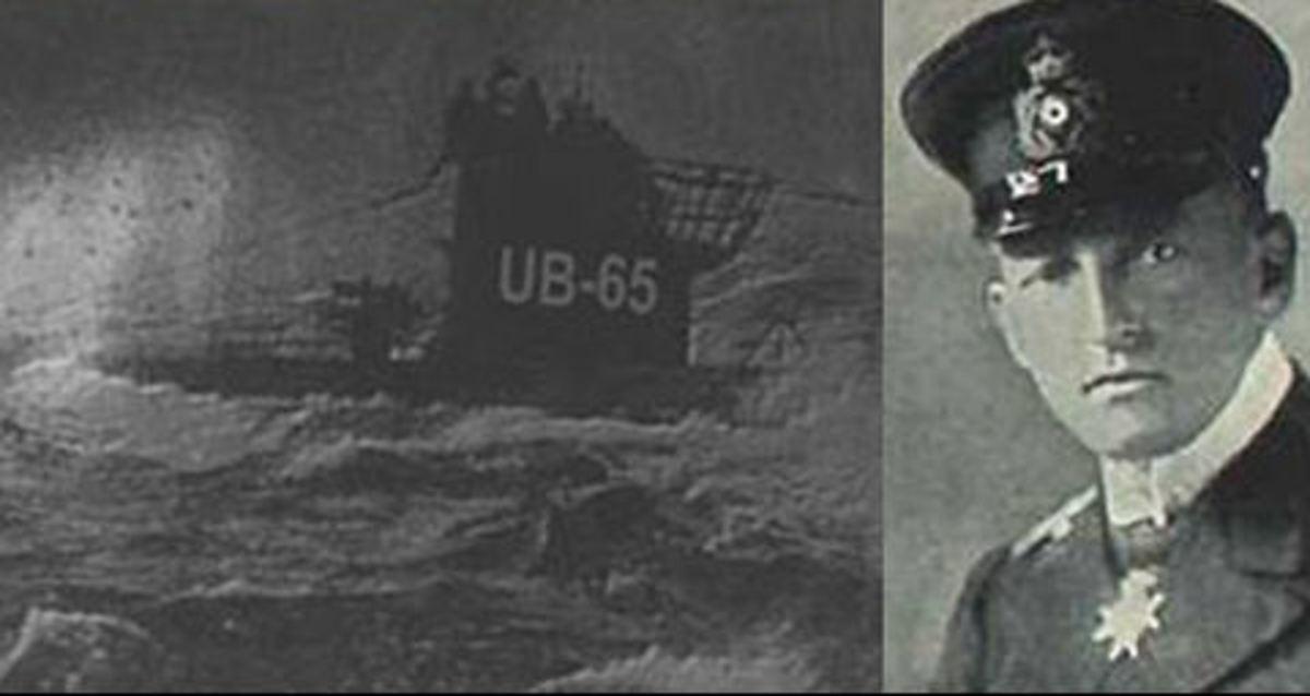 UB-65 and Lieutenant Richter