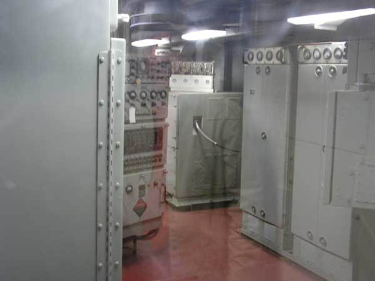 A possible ghost in the radar room. (Butterfield, 2008)
