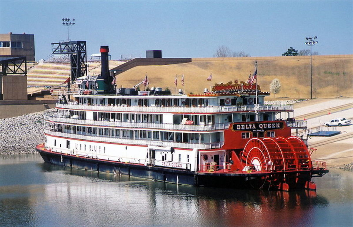 Delta Queen in Memphis, Tennessee