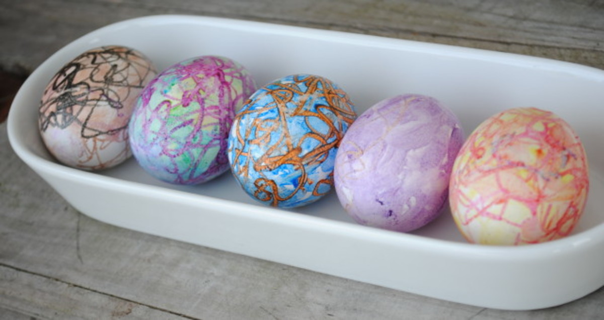 5 Great Ways to Decorate Easter Eggs