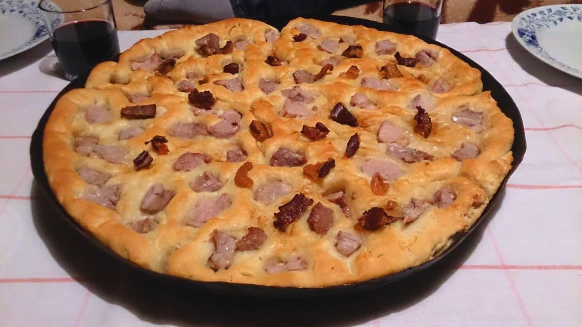 Pastrmajlija - Macedonian Pizza Recipe